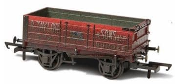 76MW4002W 4 Plank Mineral Wagon - R.Taylor & Sons Ltd Weathered ##Out Of Stock##