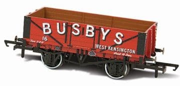 76MW5002 5 Plank Mineral Wagon - Busbys West Kensington No.16 ##Out Of Stock##