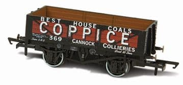 76MW5003 5 Plank Mineral Wagon - Coppice Cannock Chase No.369 ##Out Of Stock##