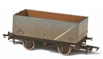 76MW7015 BR grey wagon 7 Plank Wagon Weathered P75934 ##Out Of Stock##