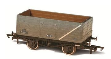 76MW7015B BR Grey Wagon 7 Plank Wagon Weathered P72521 ##out of stock##