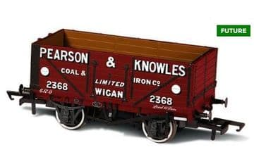 76MW7023 7 Plank Mineral Wagon Pearson & Knowles ##Out Of Stock##