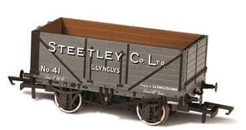 76MW7024 7 Plank Mineral Wagon Steetley and Co Llynclys ##Out Of Stock##