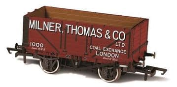 76MW7027 7 Plank Mineral Wagon Milner Thomas and Co London No.1000 ##Out of Stock##