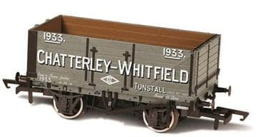 76MW7028 7 Plank Mineral Wagon Chatterley Whitfield Tunstall ##Out Of Stock##