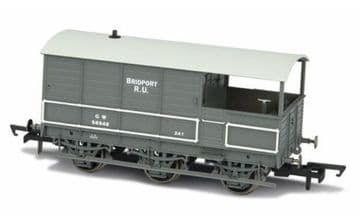 76TOA002 GWR Toad Brake GWR 6 Wheel Plated Late ##Out Of Stock##