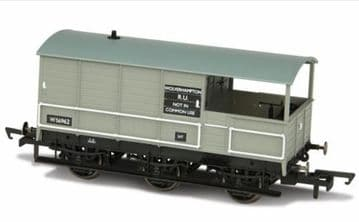 76TOA004 Toad Brake Van BR 6 Wheel Plated Wolverhampton 56962 ##Out Of Stock##