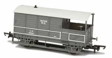 76TOB002 Toad Brake Van GWR 4 Wheel Plated (late) Acton 56034 ##Out Of Stock##