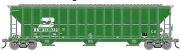 81985 FMC 4700 Covered Hopper Burlington Northern