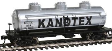 910-1101 36' 3-Dome Tank Car Kanotex