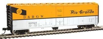 910-2809 50' PCF Insulated Boxcar Denver & Rio Grande Western