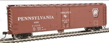 910-2811 50' PCF Insulated Boxcar Pennsylvania (Shadow Keystone)