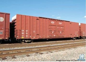 910-2930 60' High Cube Plate F Boxcar Coe Rail Inc CRLE