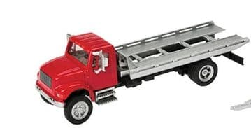 933-11591 International(R) 4900 Roll-On/Roll-Off Flatbed - Red