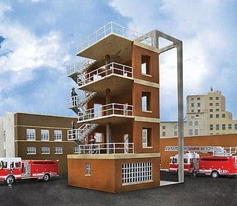 933-3766 Fire department drill tower