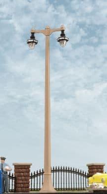 BARGAIN Walthers HO 949-4317 Double Acorn Street Light