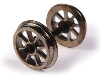 BC36-014 Metal Spoked Wagon Wheels (x10) ##Out Of Stock##