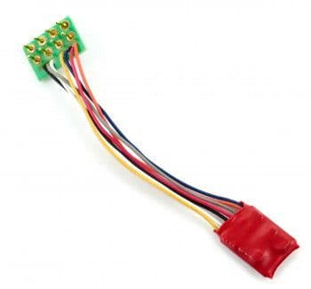 DCC92 RUBY SERIES 2FN SMALL DCC DECODER 8 PIN ##Out Of Stock##