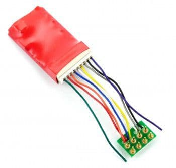 DCC94 RUBY SERIES 6FN PRO DCC DECODER 8 PIN
