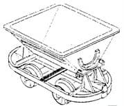 DM38 Hudson V Tipper Wagons Kit Pack of 5