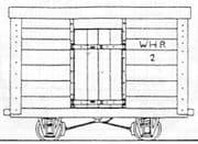 DM49 Welsh Highland Railway 4 Wheel Van Kit No.2