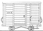 DM50 Welsh Highland Railway 4 Wh Goods Brake Van Kit