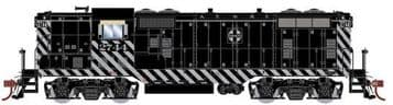 G64106 EMD GP7 Diesel Santa Fe #2744