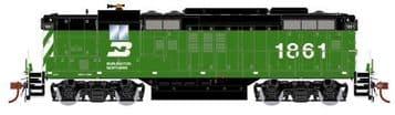 G64112 EMD GP9 Diesel Burlington Northern #1861