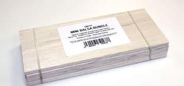 GM167  Mini Balsa Bundle 50 x 76 x 229mm