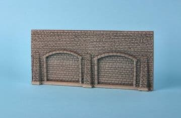 GM32 Grey Stone Wall & Arches  ##out of stock##