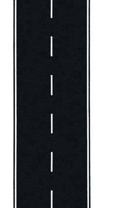 GM370 OO/HO 80mm Wide Tarmac Road (1m) ##Out Of Stock##