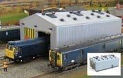GM406 Fordhampton Locomotive Depot Kit