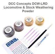 GMDCW-LRD Locomotive & Stock Weathering Powder