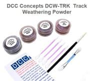 GMDCW-TRK Track Weathering Powder  ##out of stock##