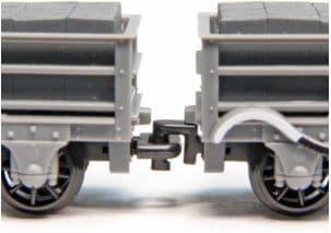 GR105 Close Couplers (Hook & Eye), OO-9, 12 sets