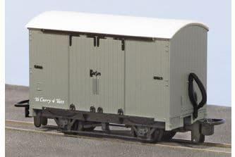 GR220U Box Van, grey unlettered