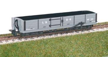 GR230 L&B 8 ton Bogie Open Wagon, L&B Grey, No. 22
