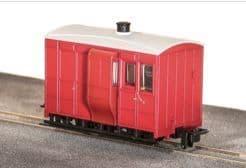 GR530UR GVT 4-wheel brake coach, plain red,