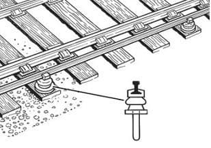 IL120 Conductor Rail Chairs for Code 60 Rail ##Out Of Stock##