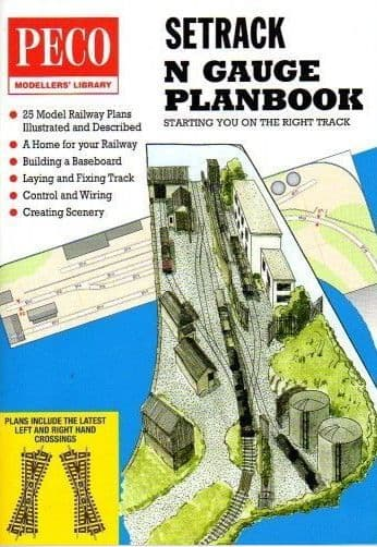 IN1 Peco N Setrack Planbook