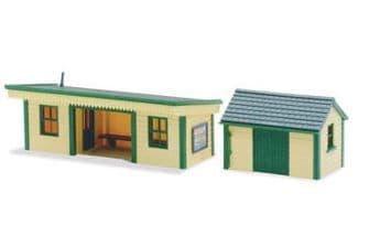 LK16 Platform Shelter & Hut, timber type