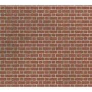 M0054 Red Brick Sheet OO/HO