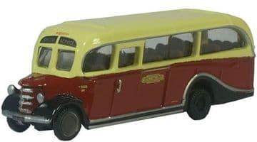 NOB001 Bedford OB Coach British Rail