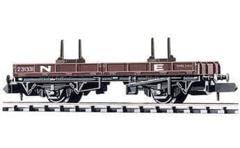 NR-4E Bolster Wagon, NE, brown