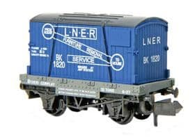 NR23 Conflat and Container LNER ##Out Of Stock##