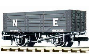 NR41E Coal, 7 plank LNER, grey
