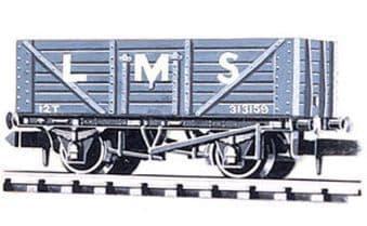 NR41M Coal, 7 plank LMS, light grey