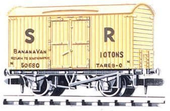 NR42S Box Van, Banana, SR