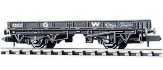 NR5W Plate Wagon, GW, dark grey