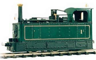 OL1 0-4-2 Beyer-Peacock Tram Locomotive Body